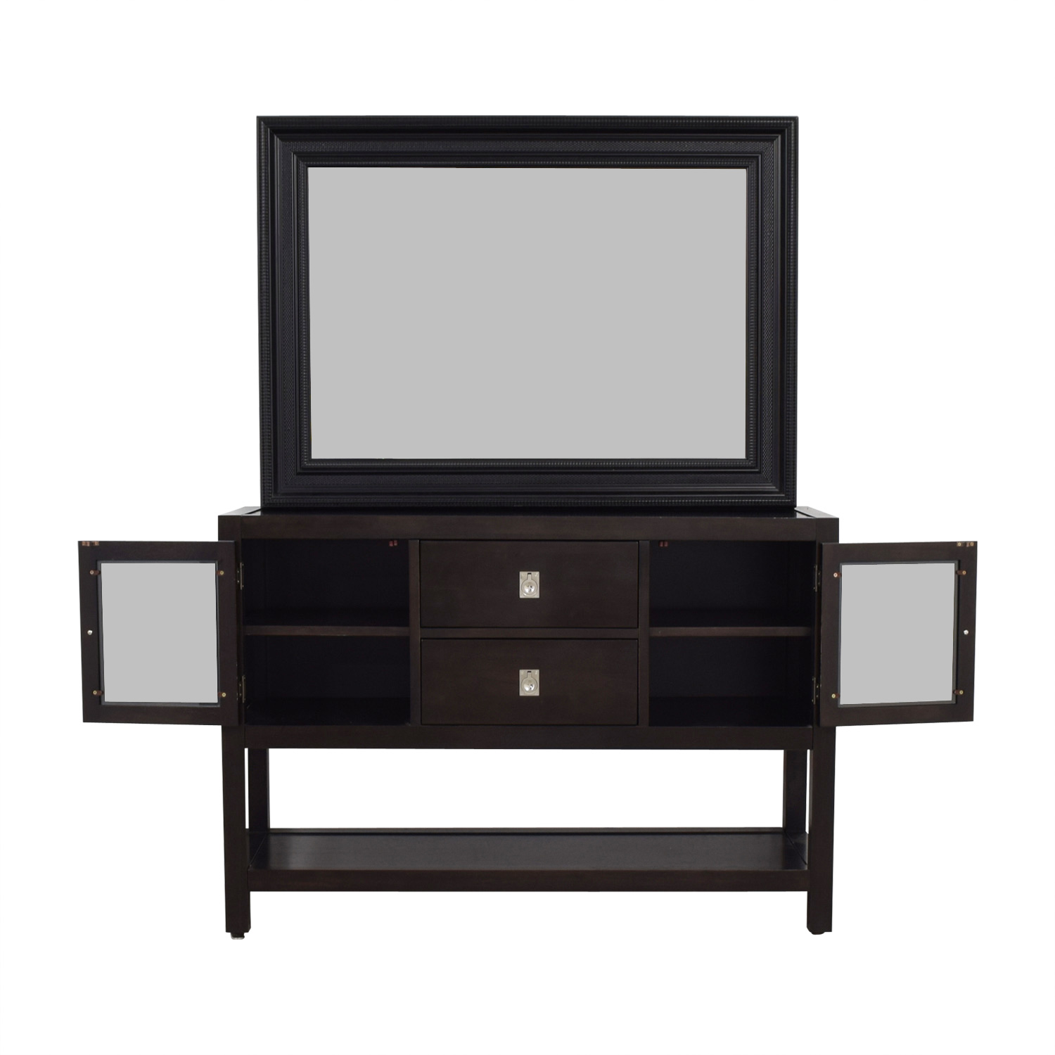 Modern Sideboard With Mirror for sale