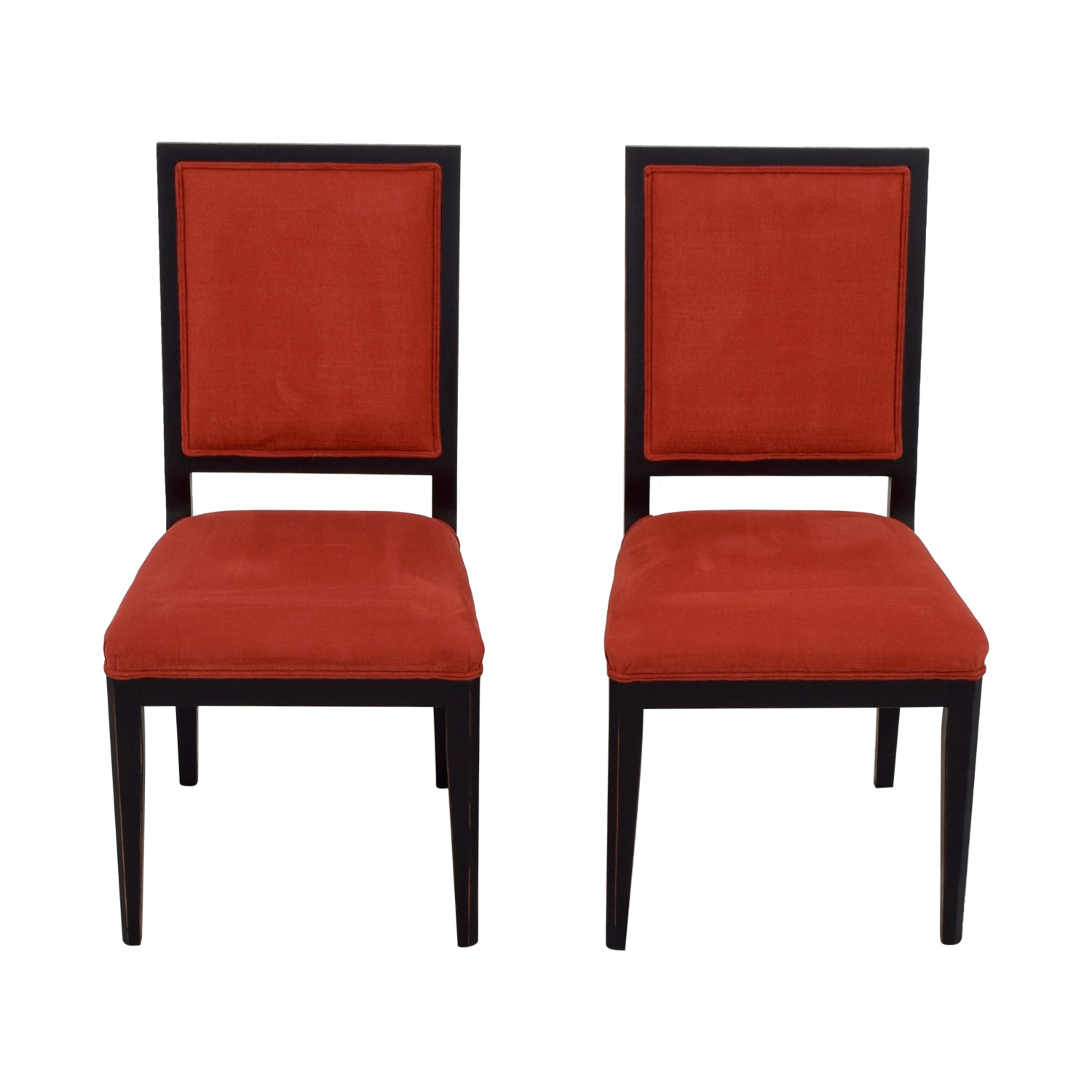 Delicieux ... Buy Buying And Design Buying And Design Red Upholstered Dining Chairs  Online ...