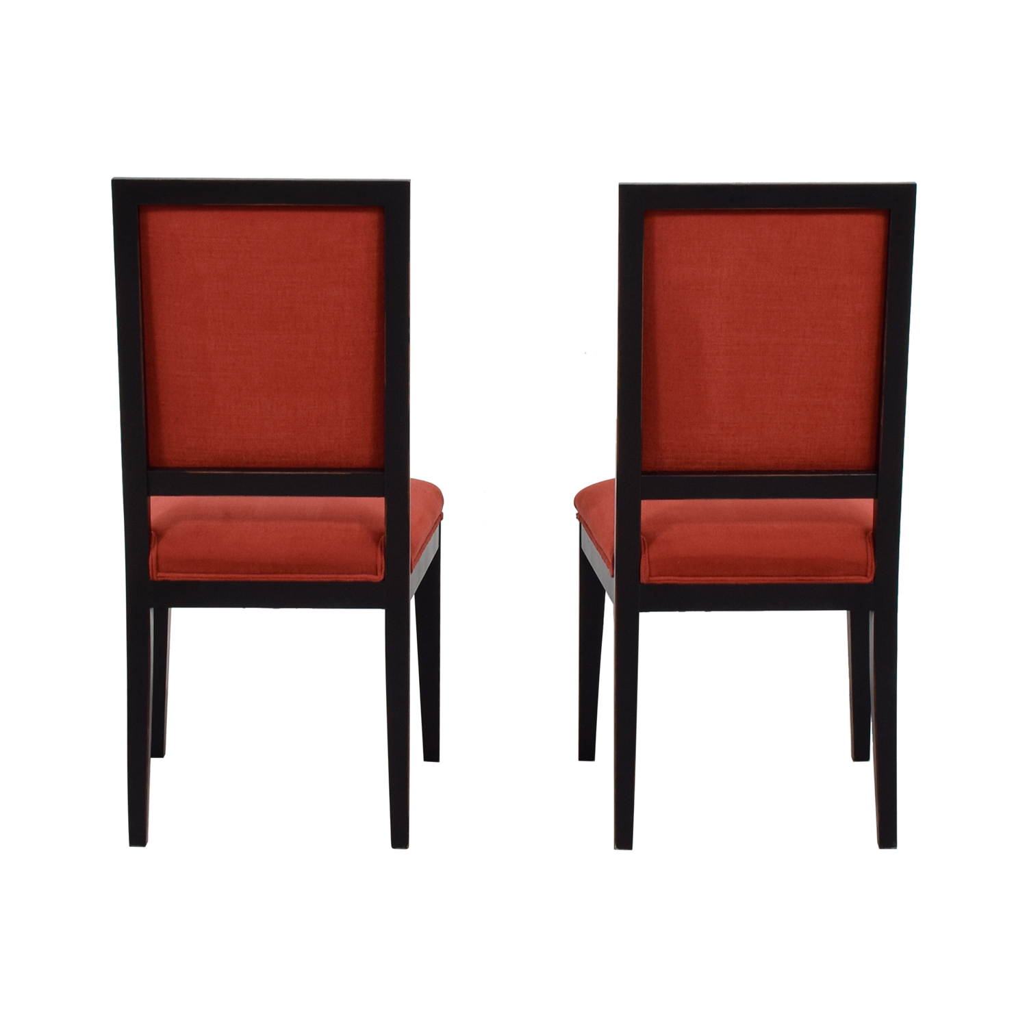 Buying and Design Buying and Design Red Upholstered Dining Chairs discount