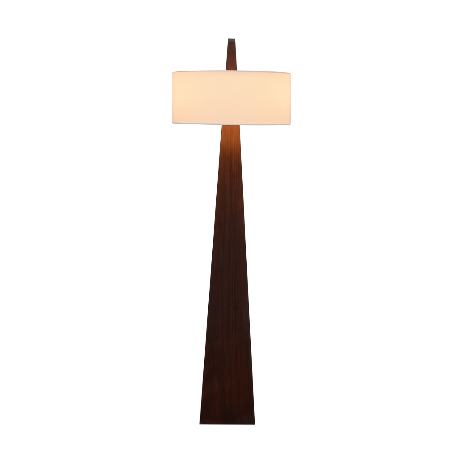 Nova Nova Wood Slab Floor Lamp Decor