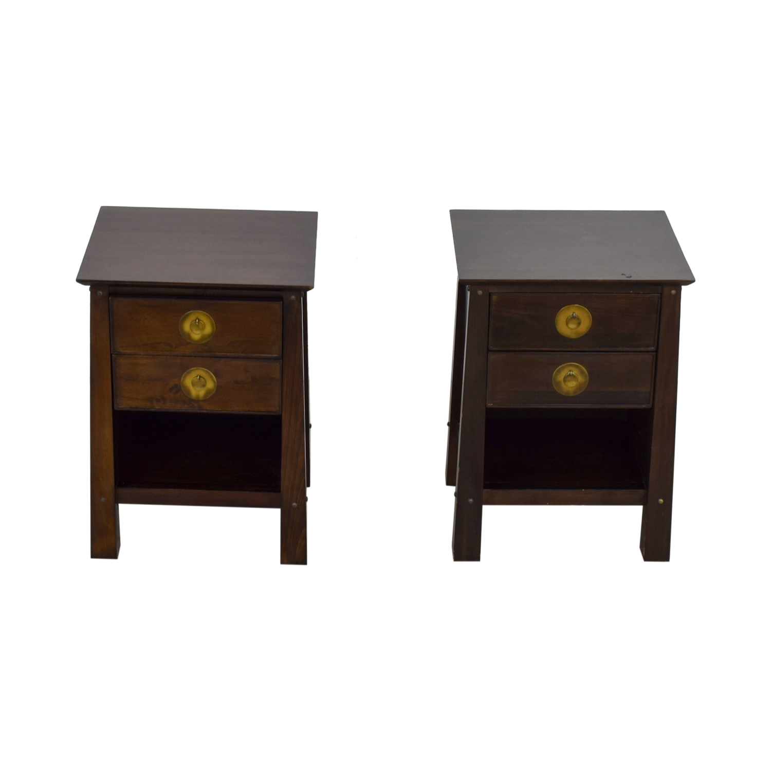 Pier 1 Imports Pier 1 Imports Two-Drawer Nightstands second hand