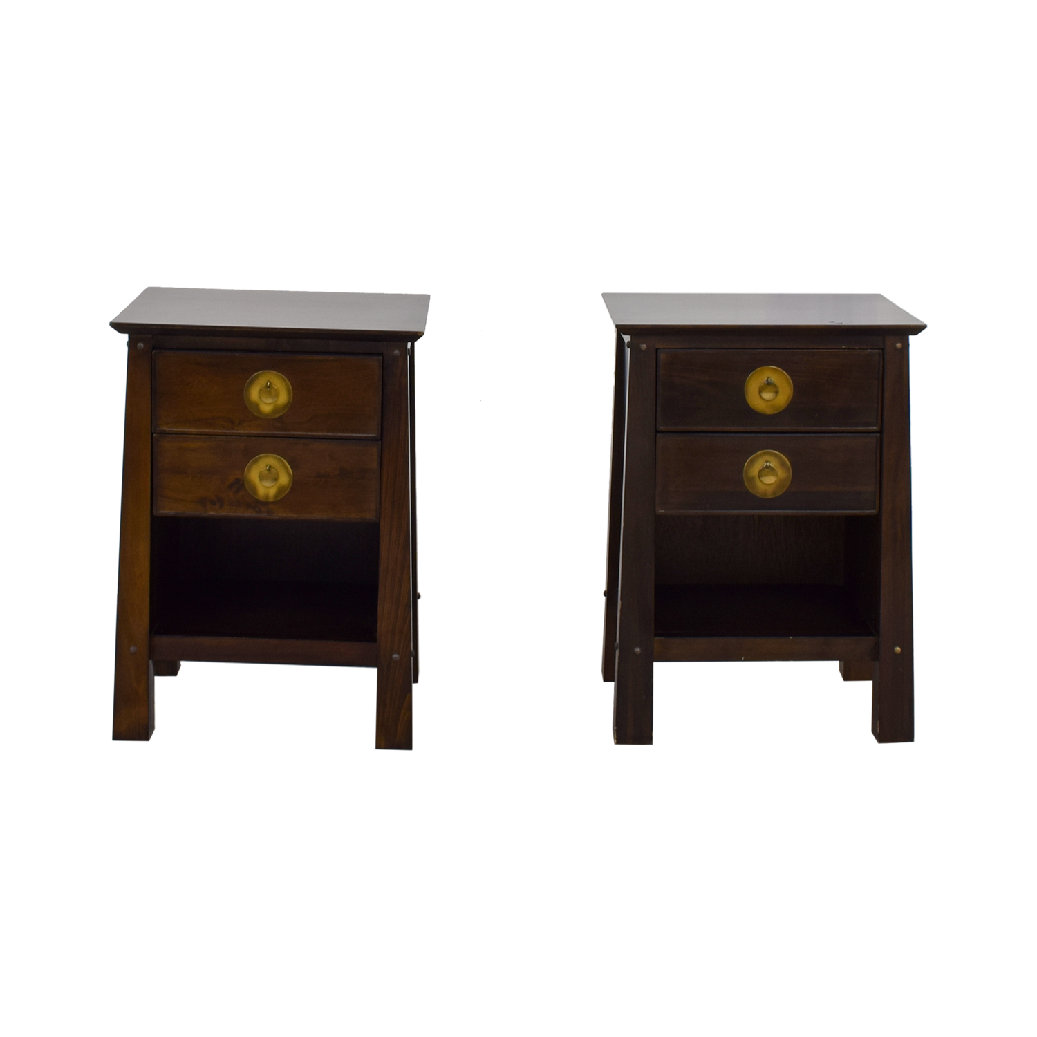Pier 1 Imports Two-Drawer Nightstands / Sofas