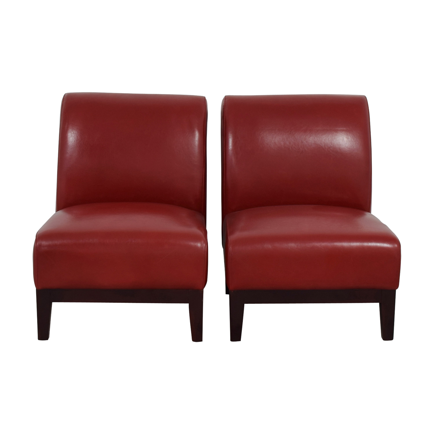Red Leather Accent Chairs Discount ...