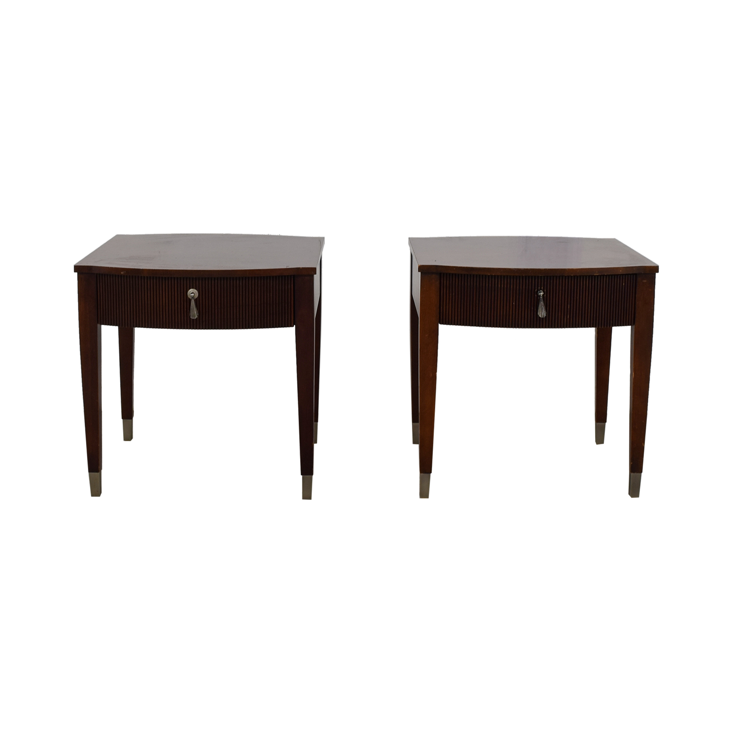 Ethan Allen Ethan Allen Single Drawer End Tables on sale