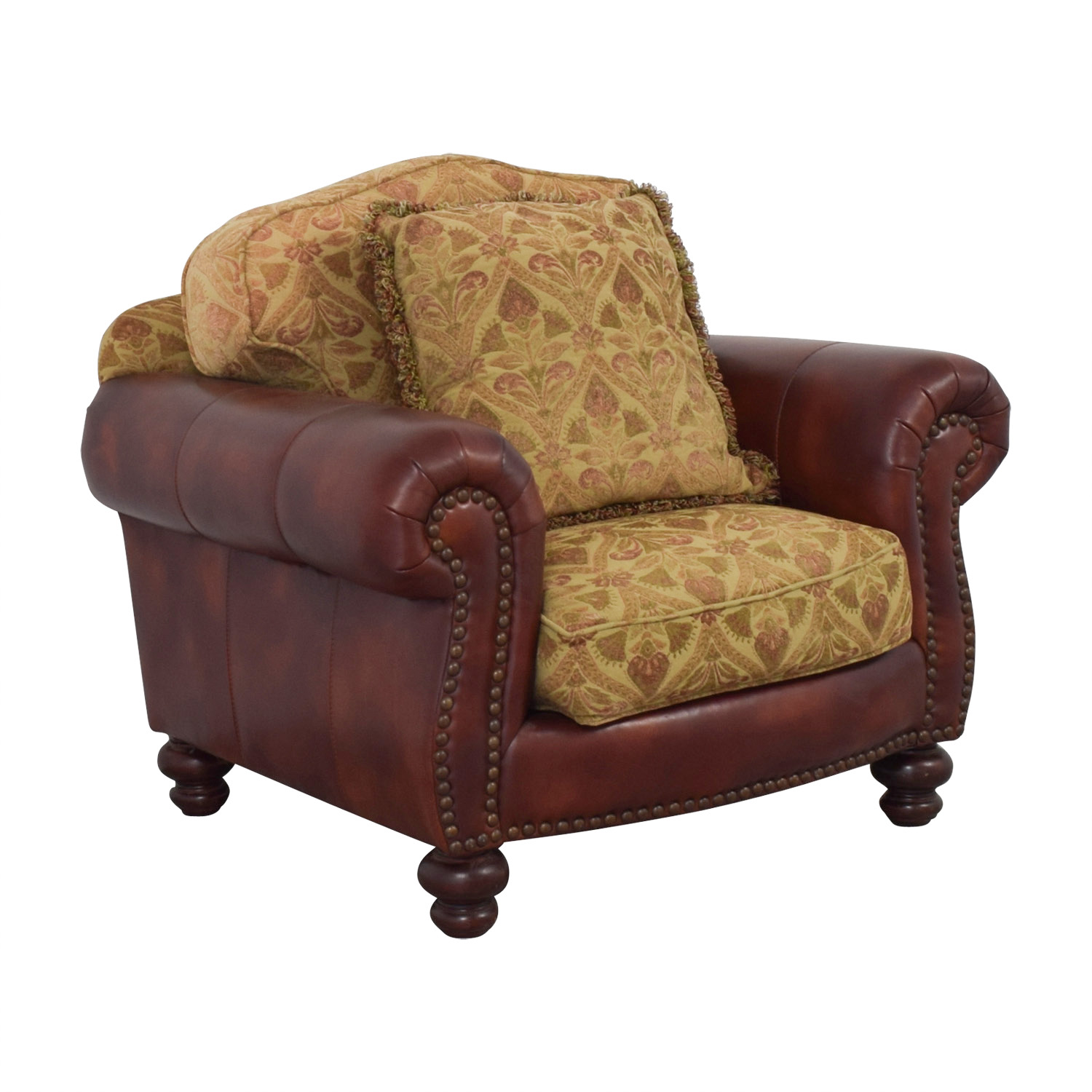 90 Off Distinctions Distinctions Red Leather Nailhead