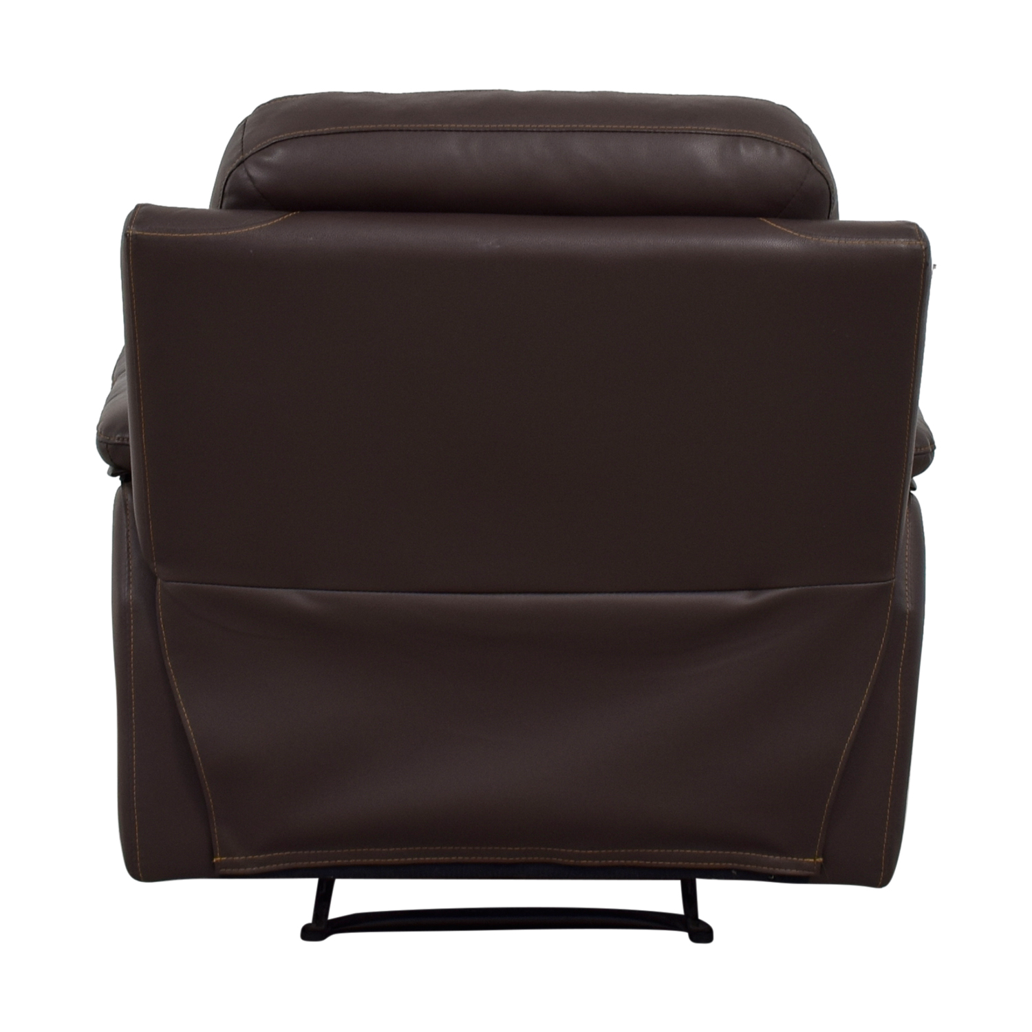 shop Brown Leather Recliner
