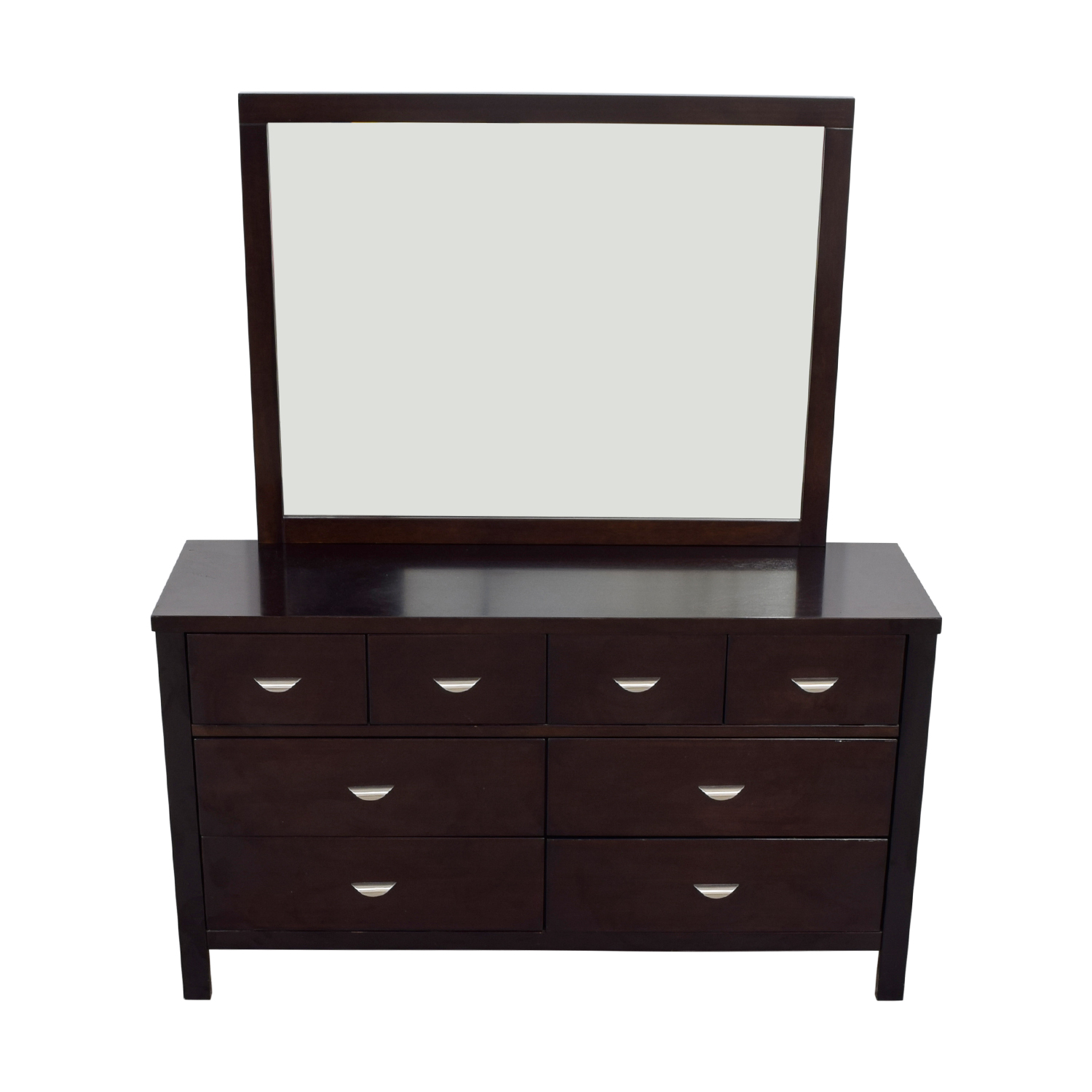 Ligna Ligna Six-Drawer Dresser with Mirror dimensions