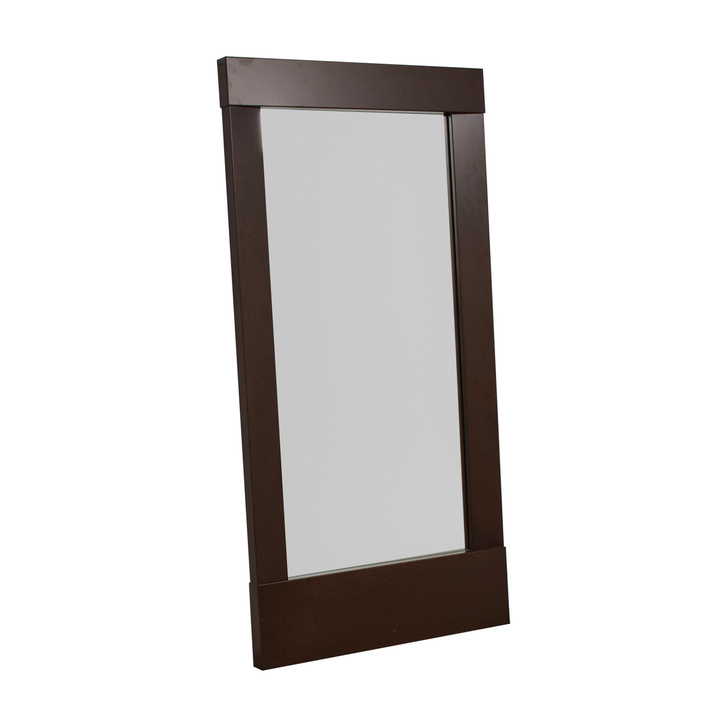 Crate & Barrel Crate & Barrel Colby Bronze Floor Mirror Decor