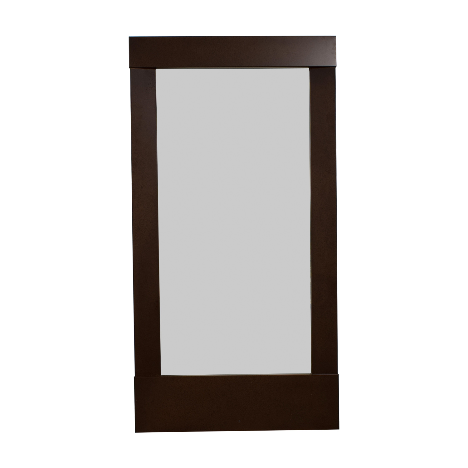 buy Crate & Barrel Colby Bronze Floor Mirror Crate & Barrel Decor