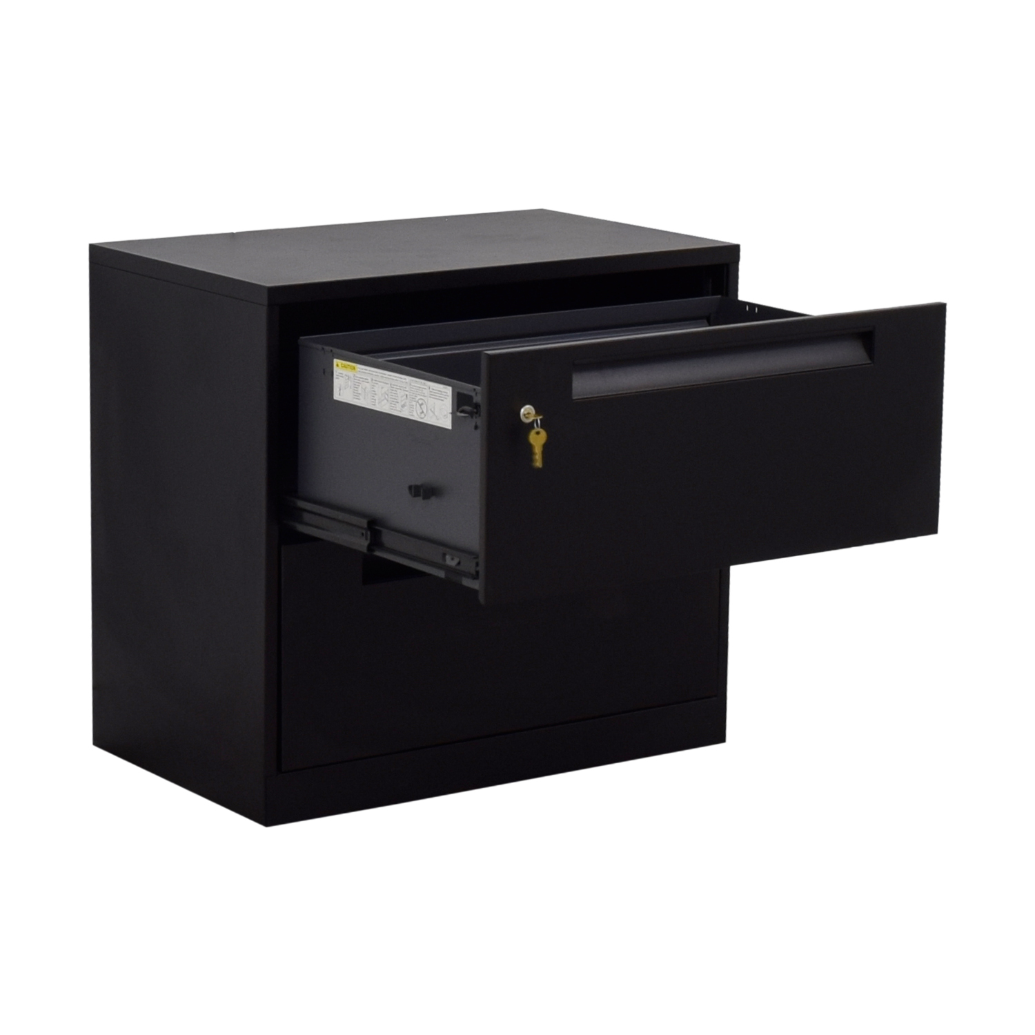 buy Steelcase Steelcase Black Lateral Two-Drawer File Cabinet online