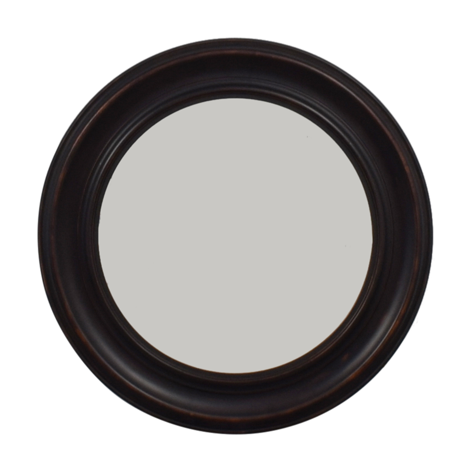 Round Framed Wall Mirror discount