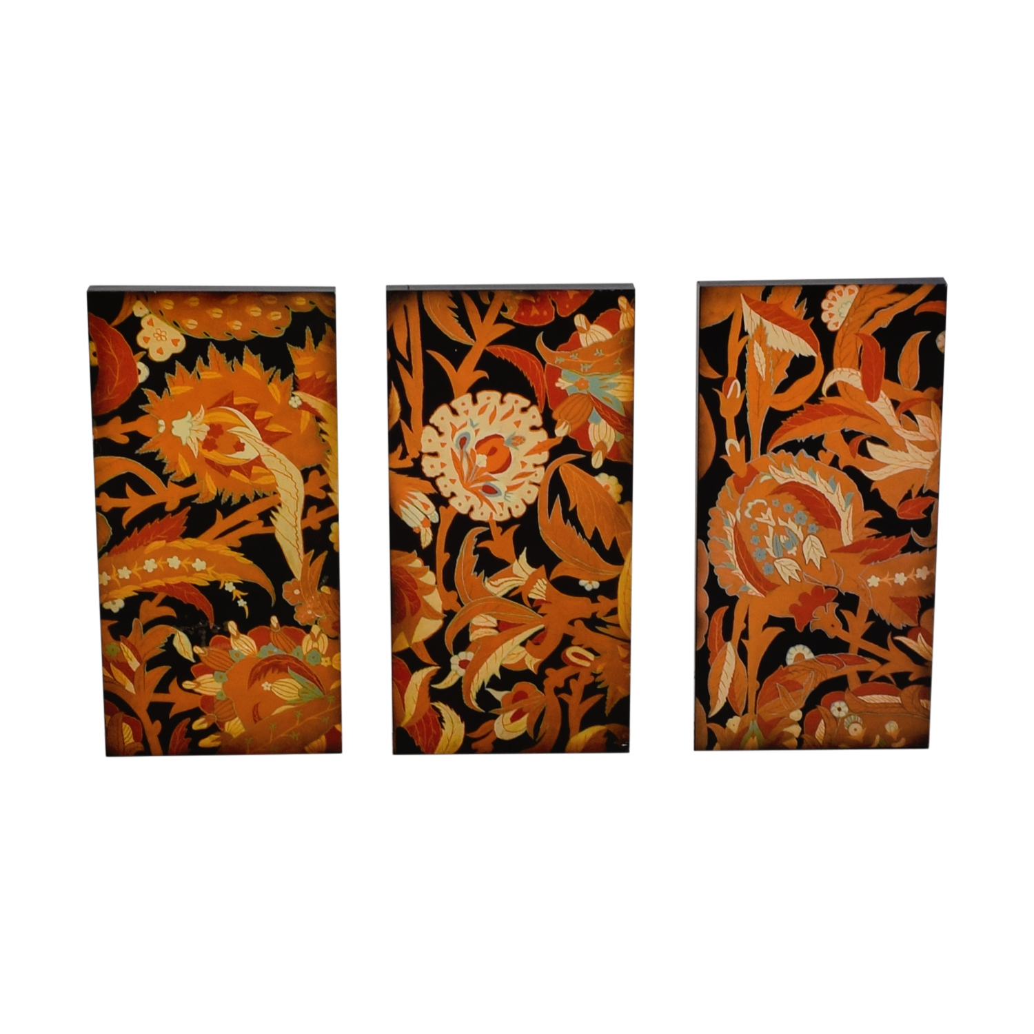 shop Floral Wall Art Triptych