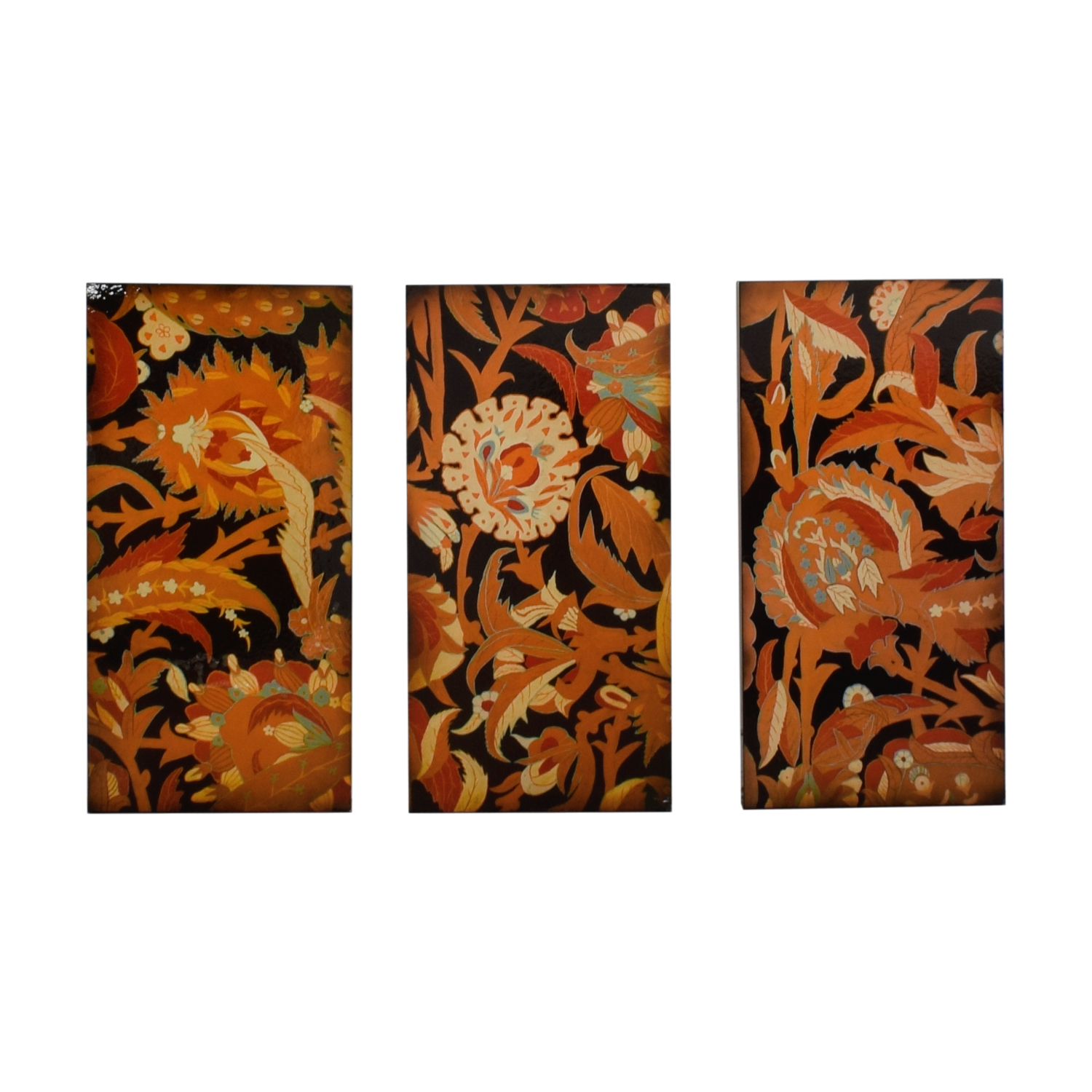 shop Floral Wall Art Triptych  Sofas