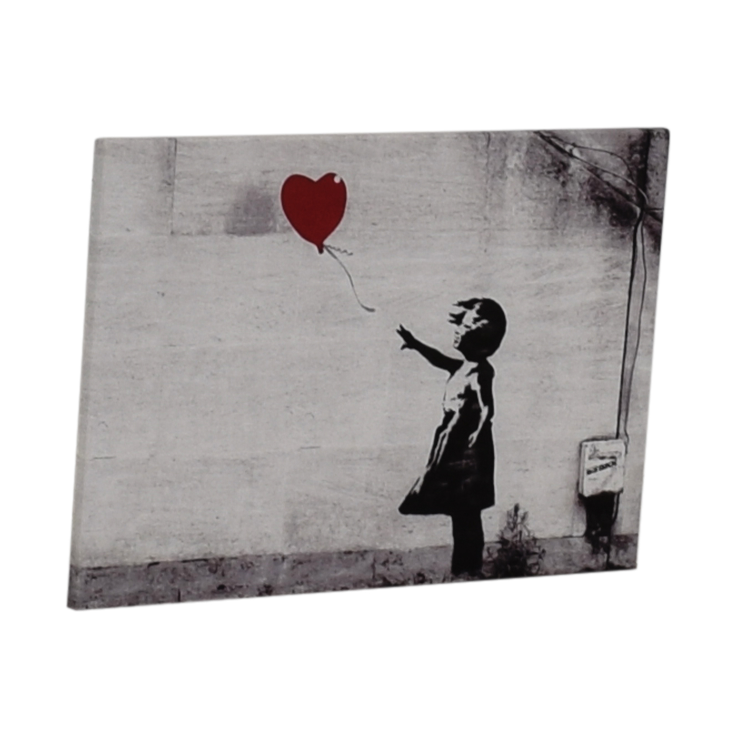 Banksy Banksy Girl with Red Balloon Wall Art