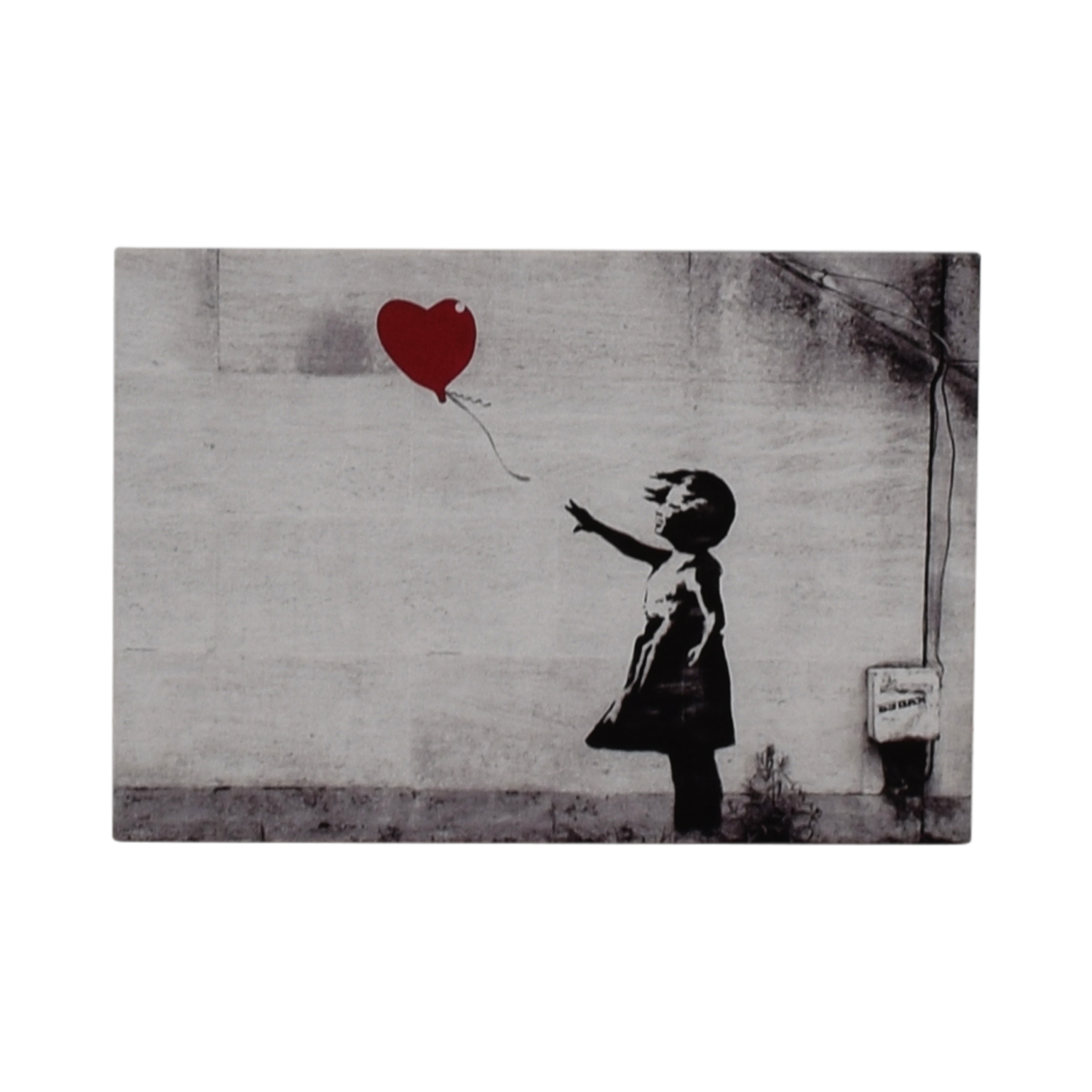 Banksy Banksy Girl with Red Balloon Wall Art coupon
