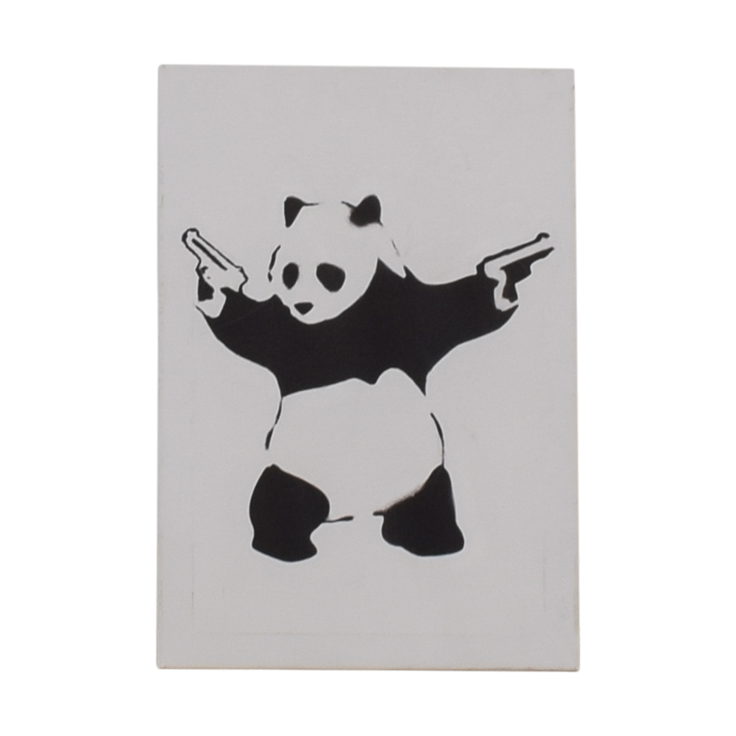 Banksy Panda with Guns Wall Art / Wall Art