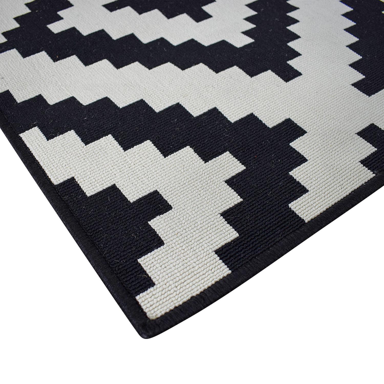 Ikea Lljung Ruto White Black