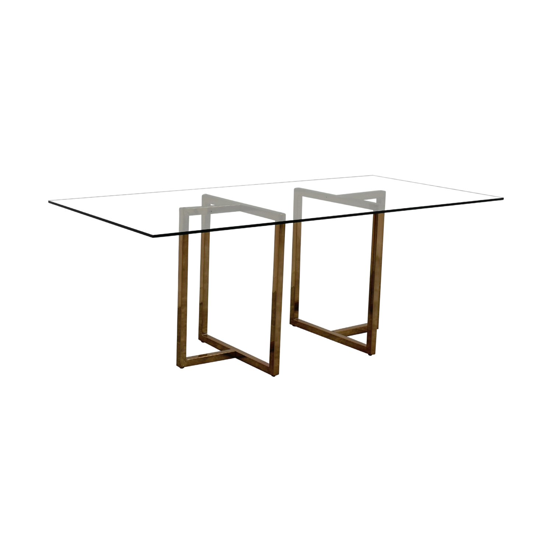 OFF CB CB Silverado Dining Table Tables - Silverado rectangular coffee table