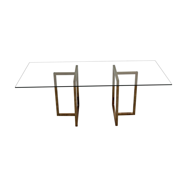 buy CB2 Silverado Dining Table CB2