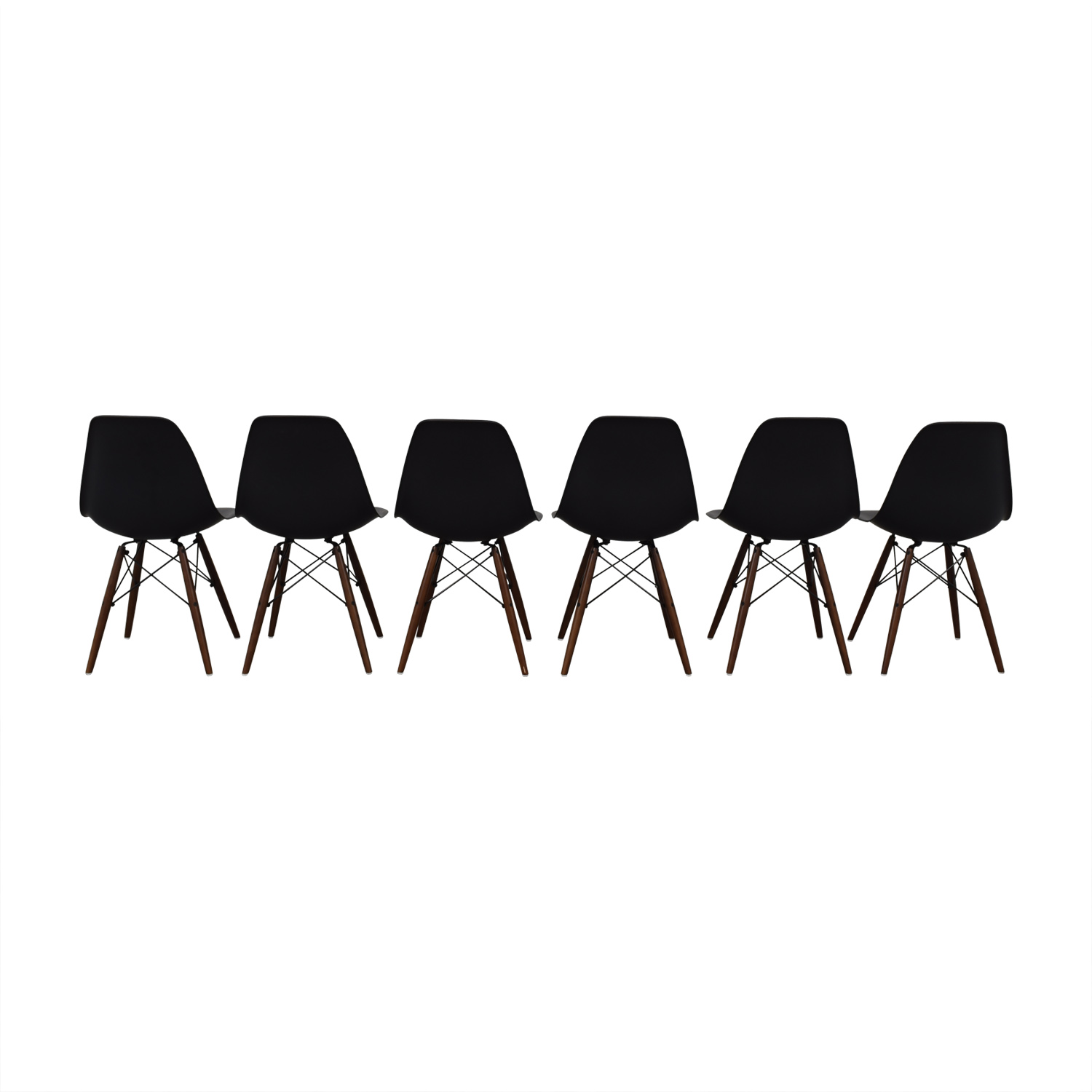 shop Poly & Bark Black Dining Chairs Poly & Bark Dining Chairs