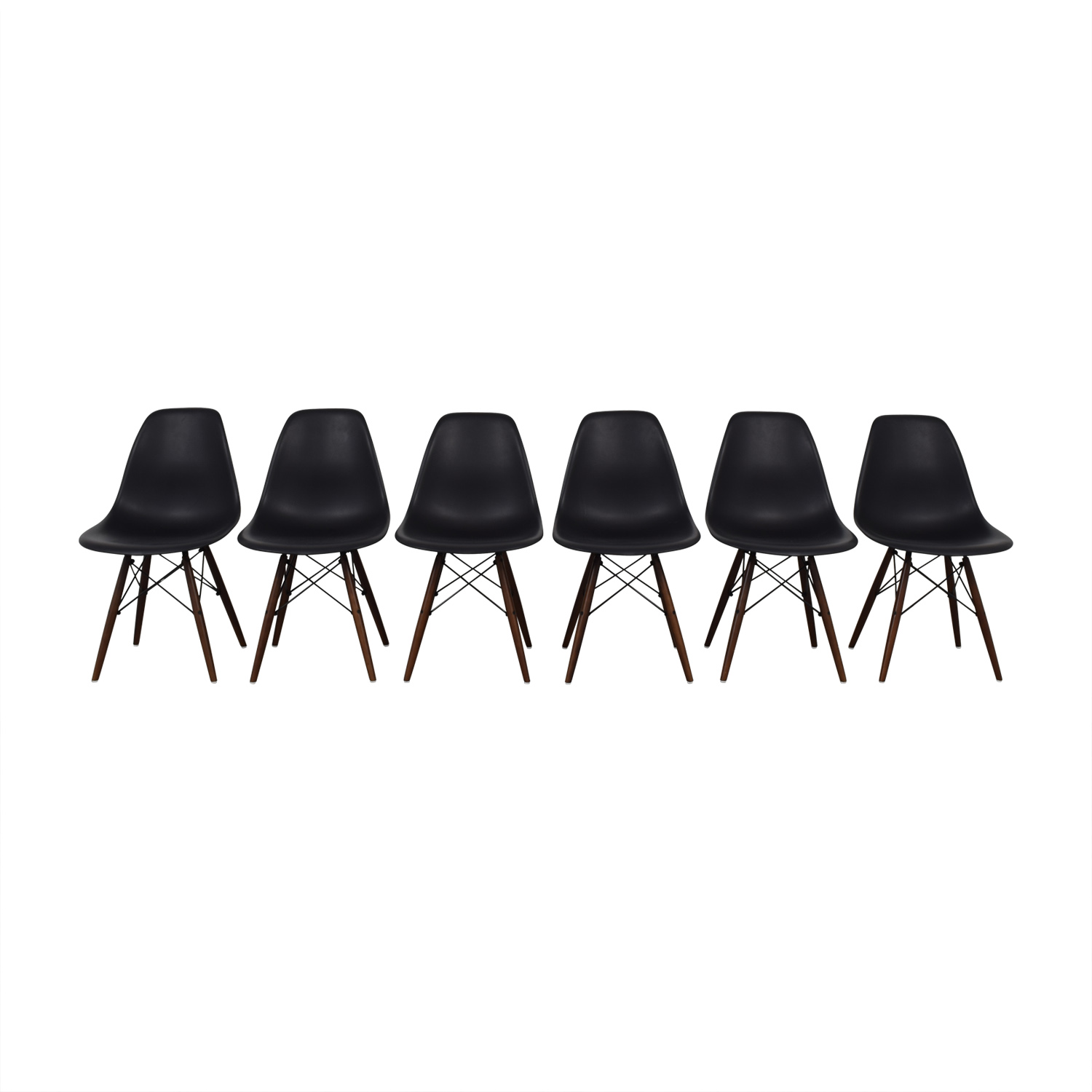 buy Poly & Bark Poly & Bark Black Dining Chairs online