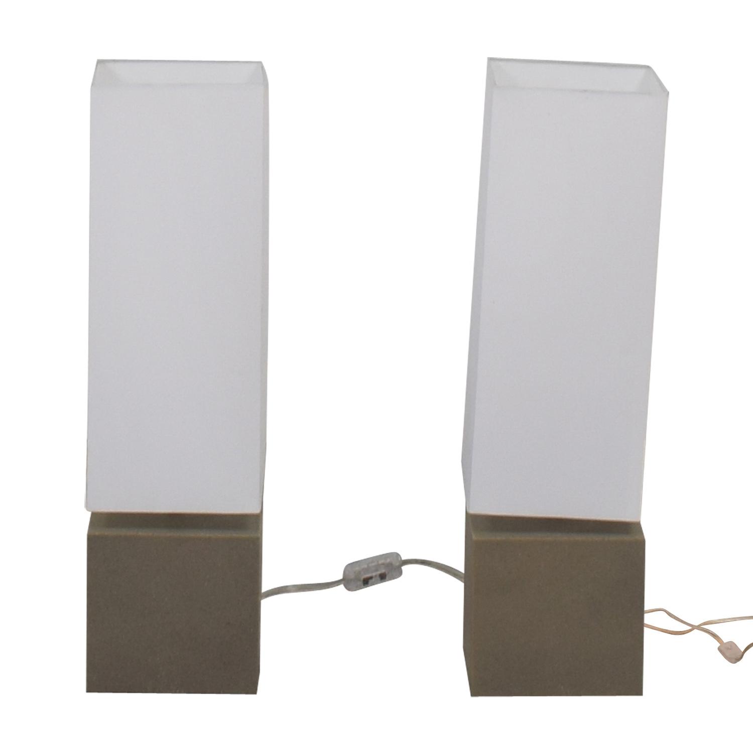 CB2 Aggie Table Lamps sale