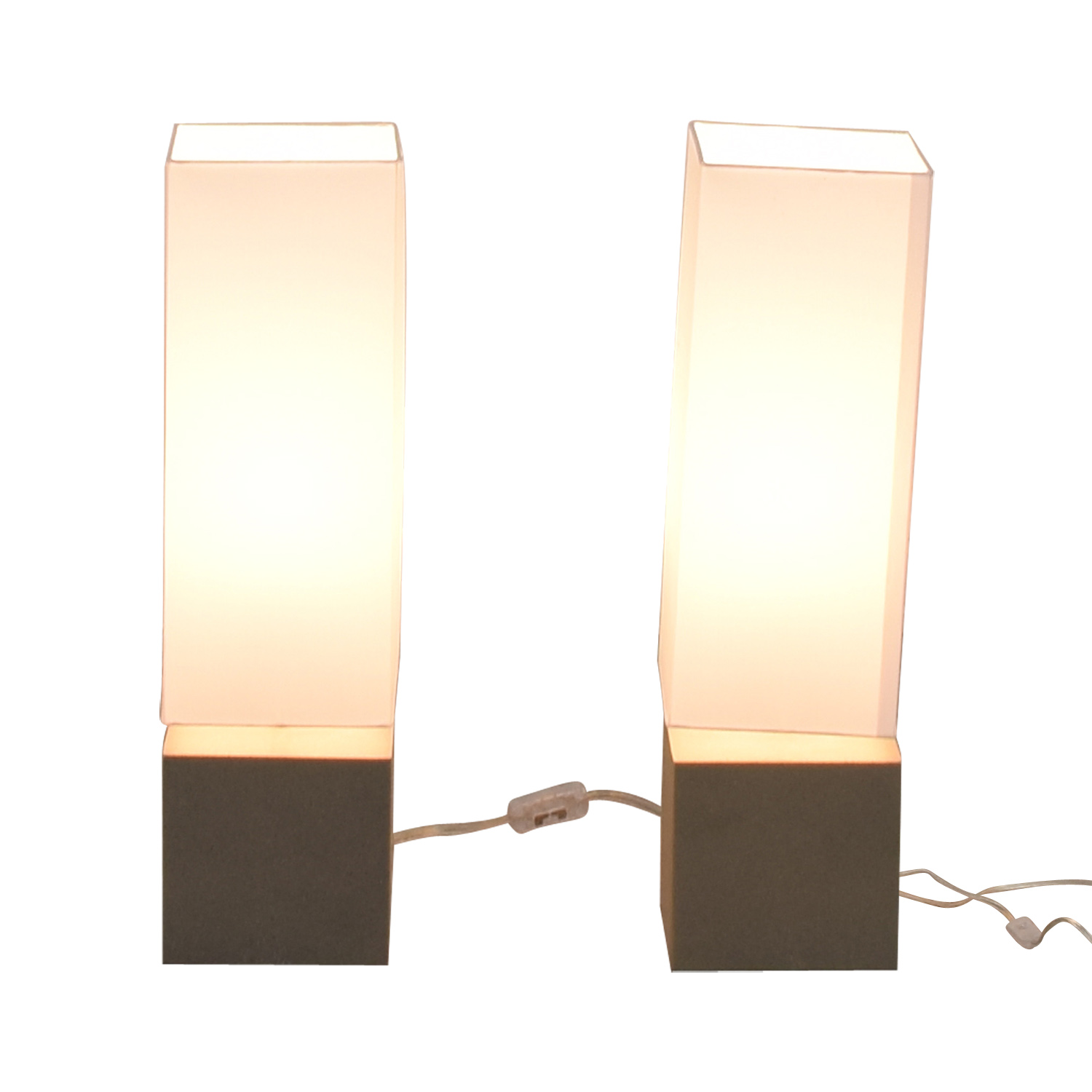 CB2 CB2 Aggie Table Lamps second hand