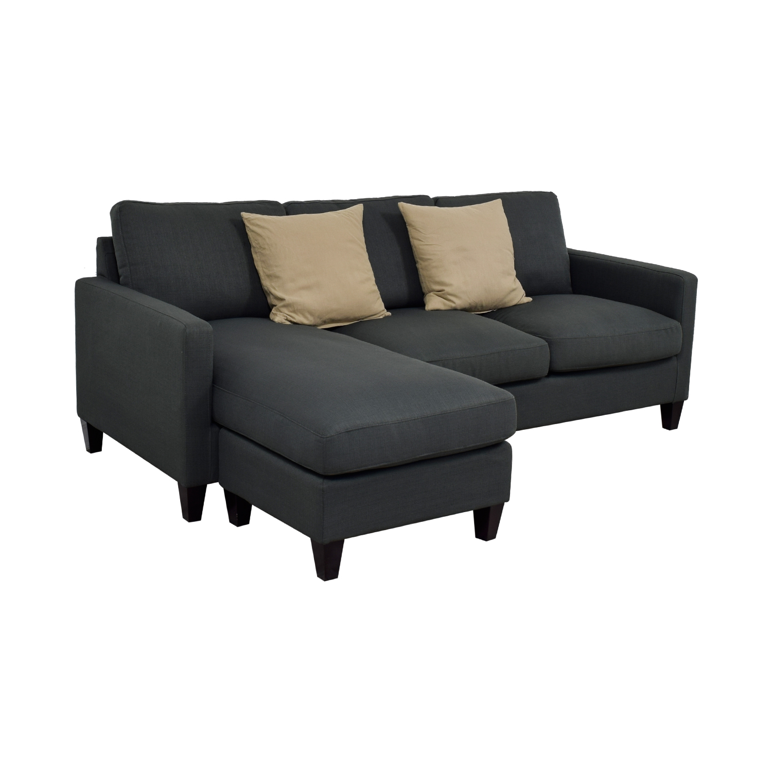 World Market Grey Chaise Sectional