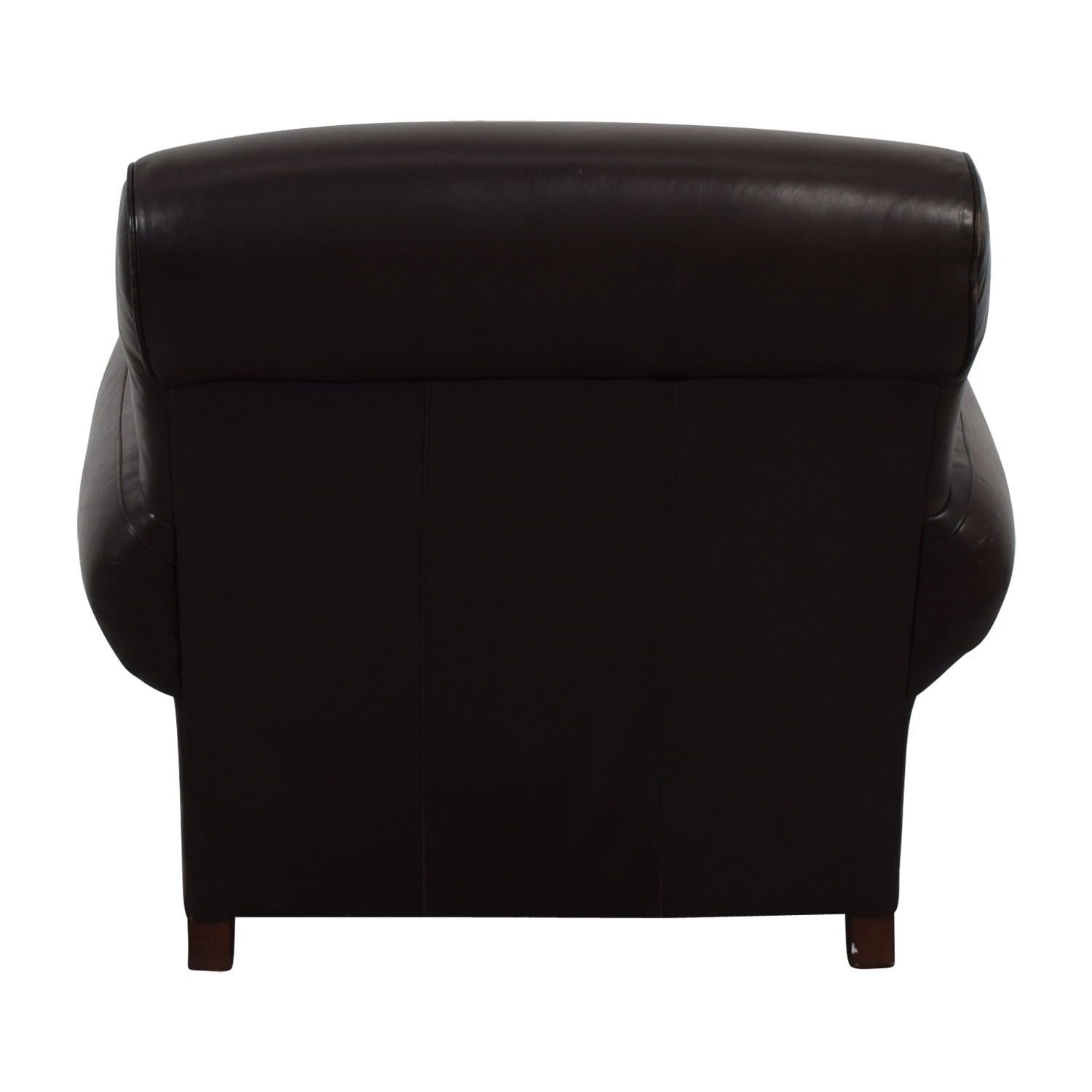 Pottery Barn Pottery Barn Brown Leather Chair on sale