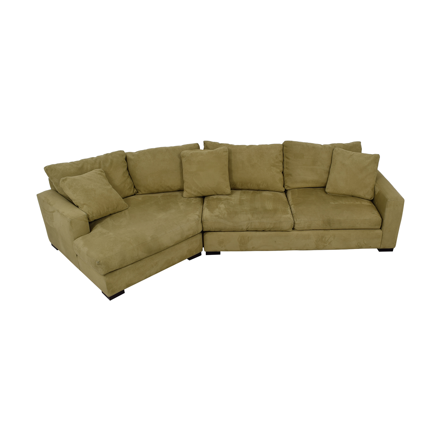 Room & Board Room & Board Beige Metro Sofa with Angled Chaise on sale