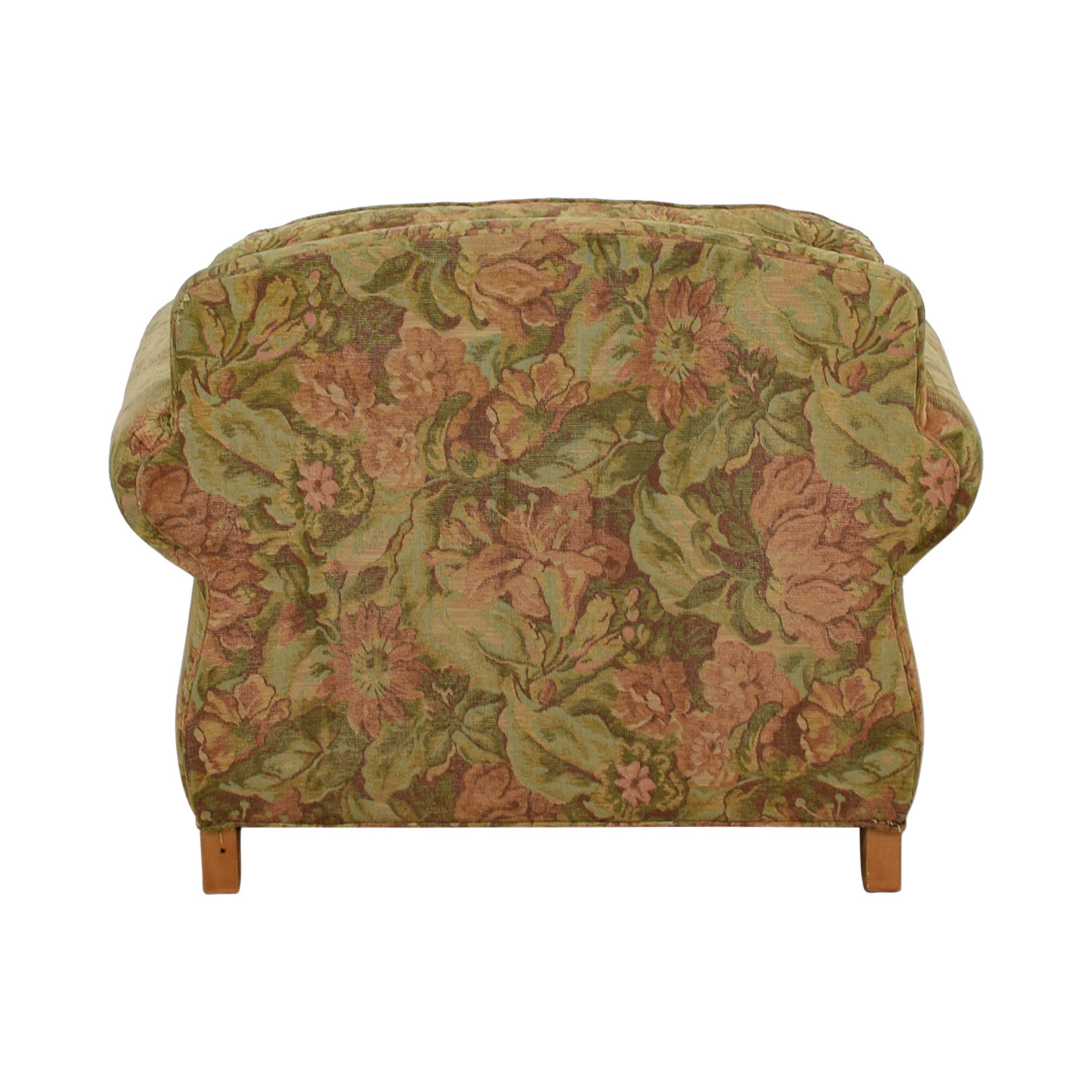 Ethan Allen Ethan Allen Flower Fabric Lounge Chair used