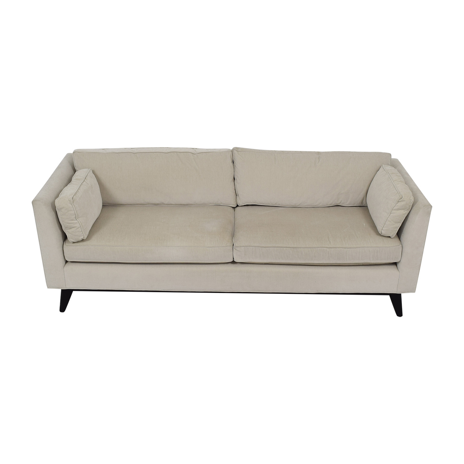 Mitchell Gold + Bob Williams Mitchell Gold + Bob Williams Ainsley White Two-Cushion Sofa coupon