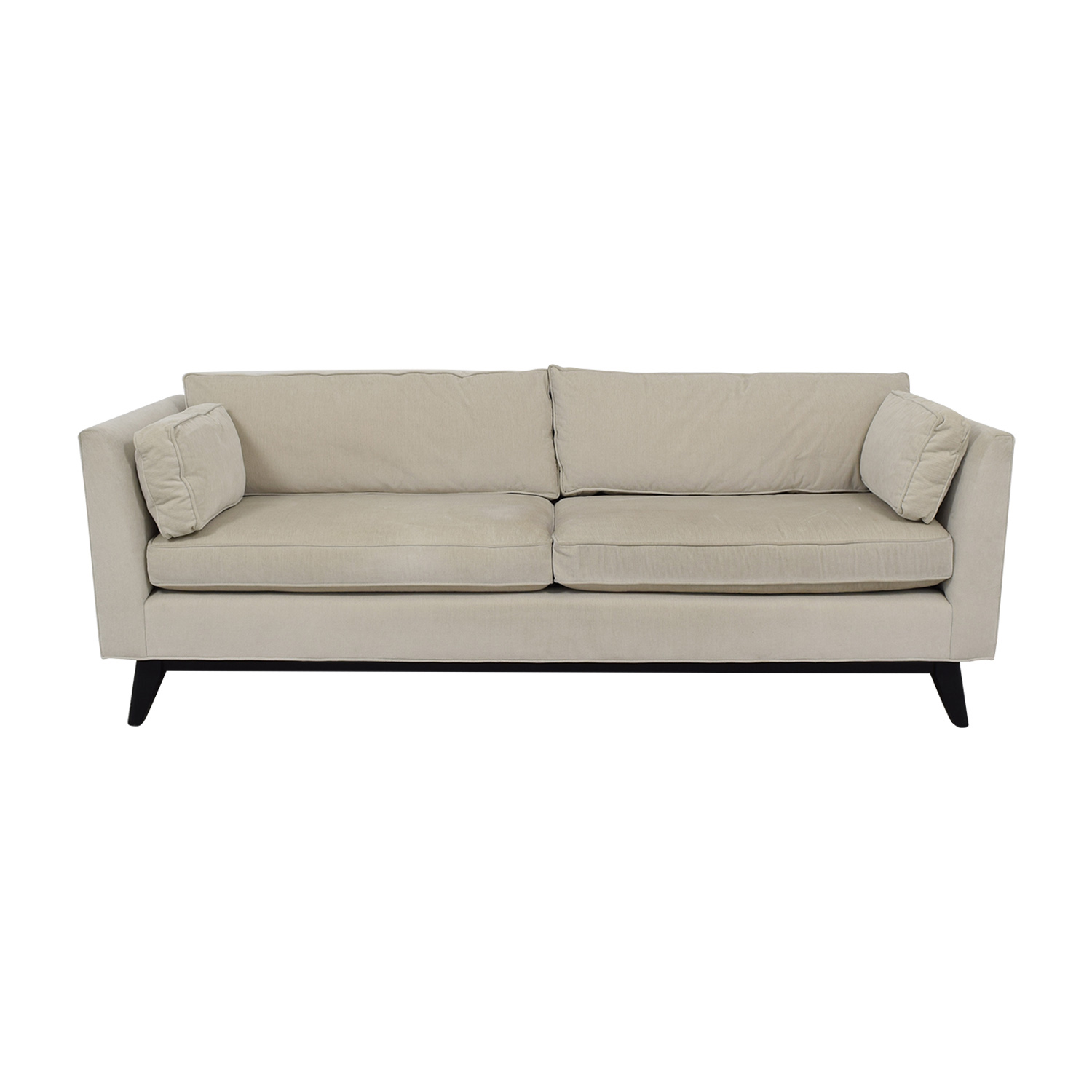 Mitchell Gold + Bob Williams Mitchell Gold + Bob Williams Ainsley White Two-Cushion Sofa on sale