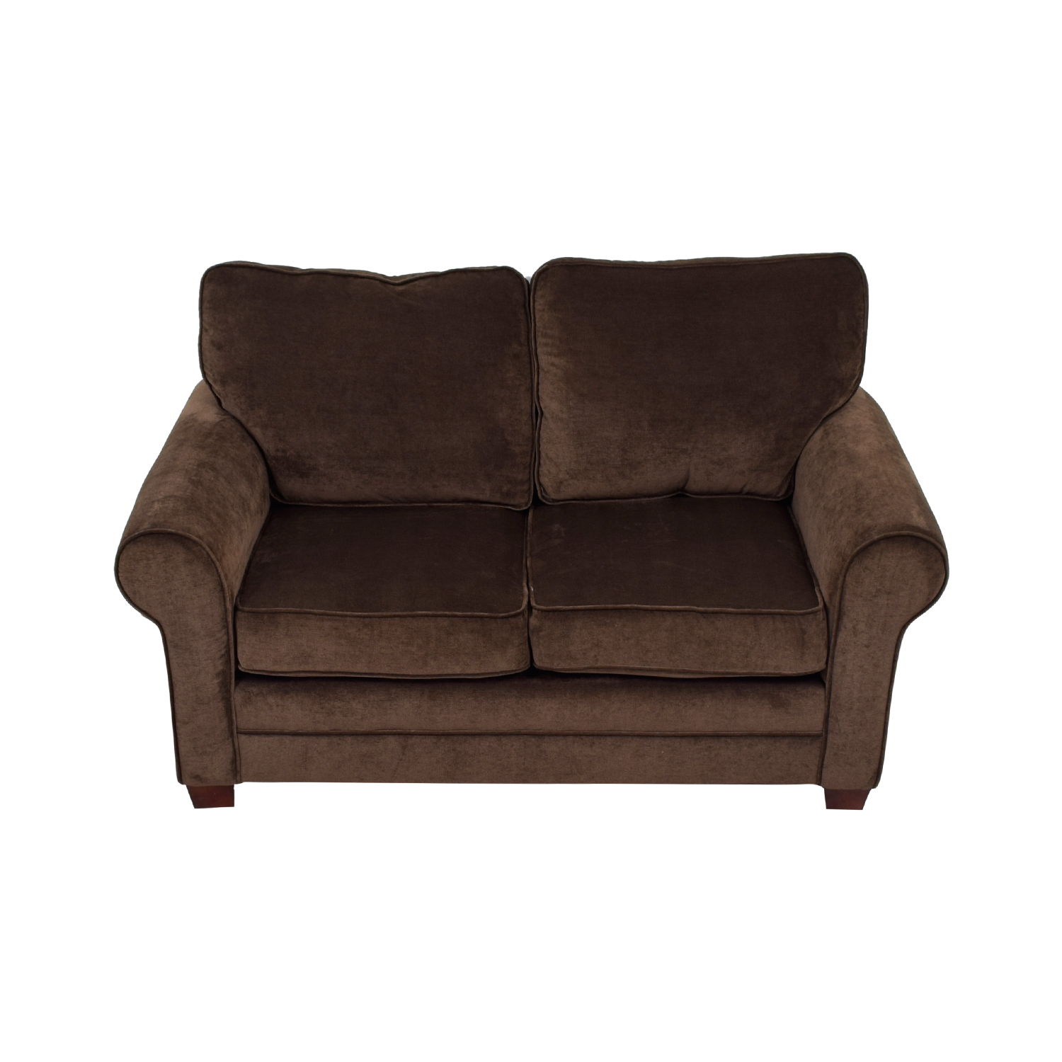 buy Bob's Furniture Bob's Furniture Brown Loveseat online