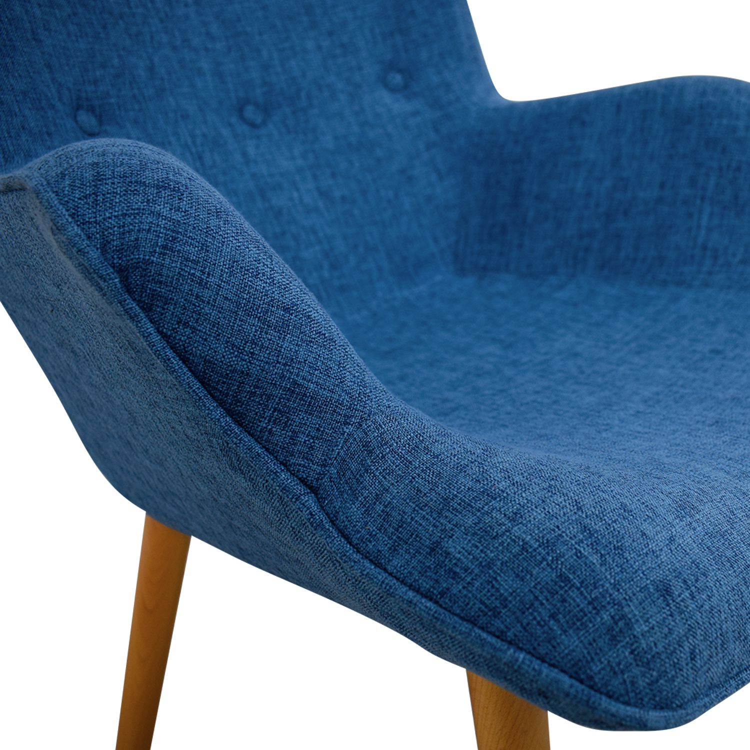 ... Christopher Knight Home Christopher Knight Home Fayola Blue Tufted  Accent Chair Price ...