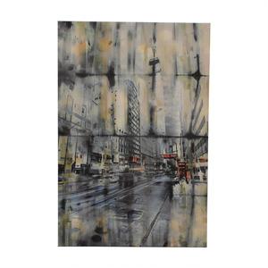Parvez Taj City Landscape Print on Canvas for sale