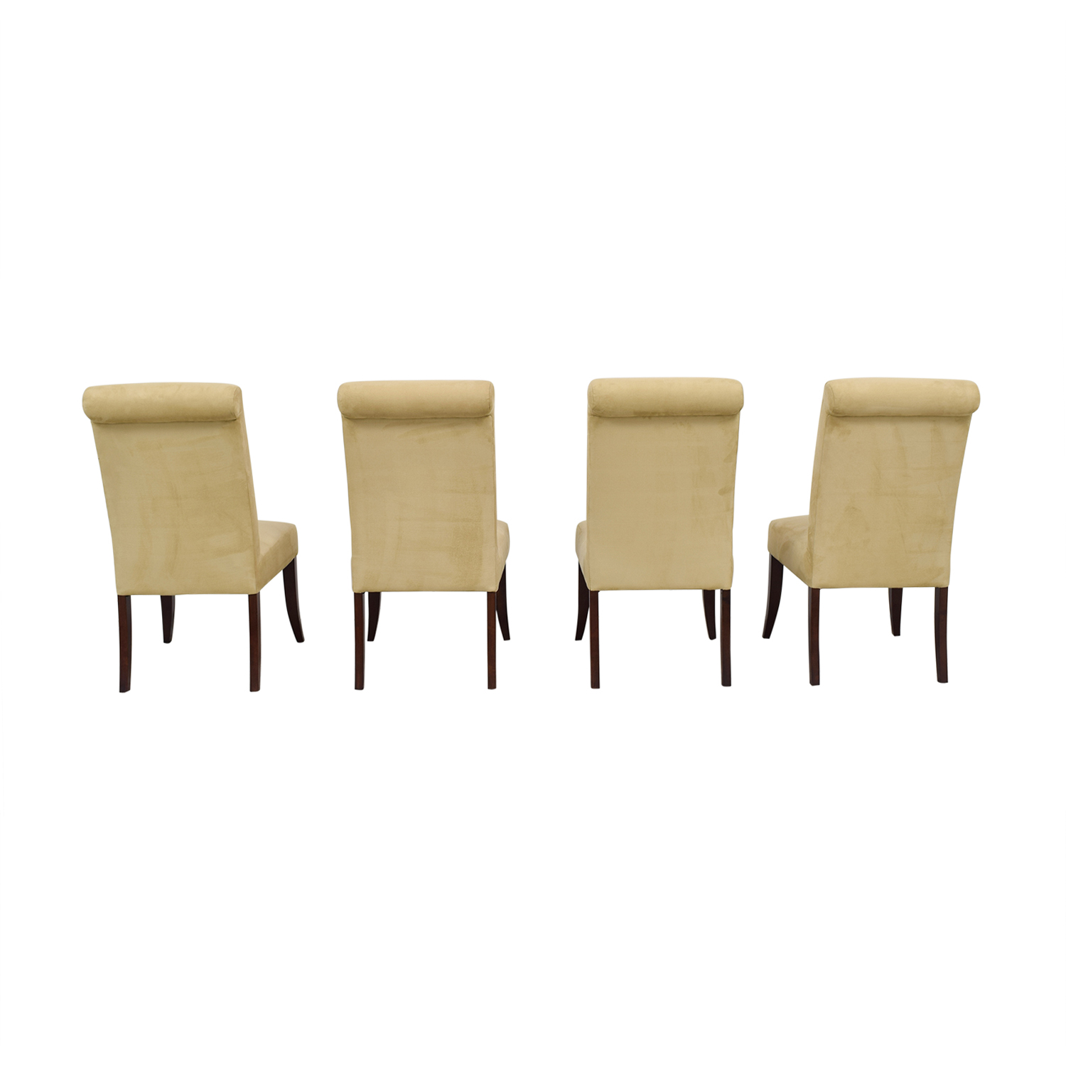 buy Pottery Barn Beige Upholstered Dining Chairs Pottery Barn