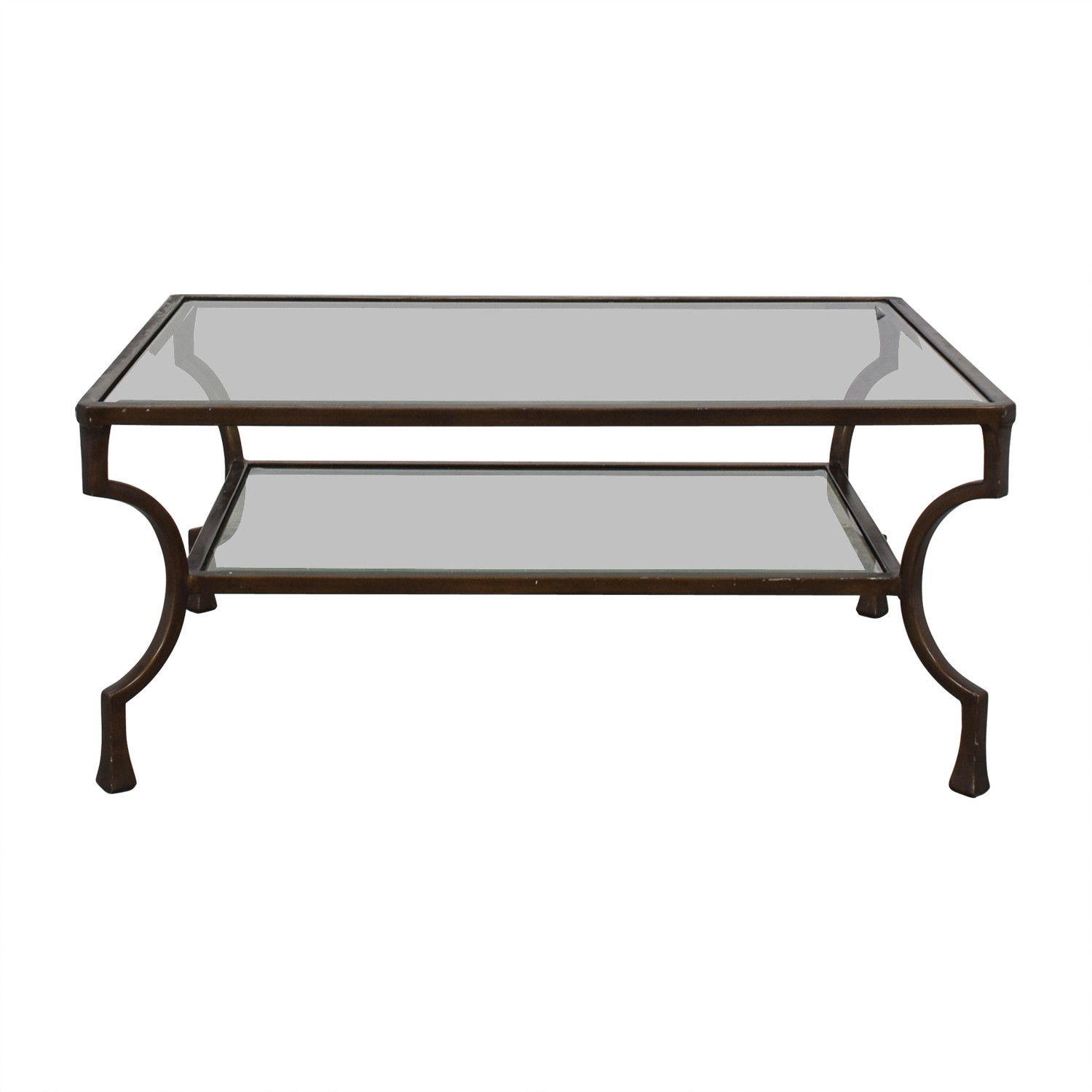 Ralph Lauren Glass Coffee Table Tables