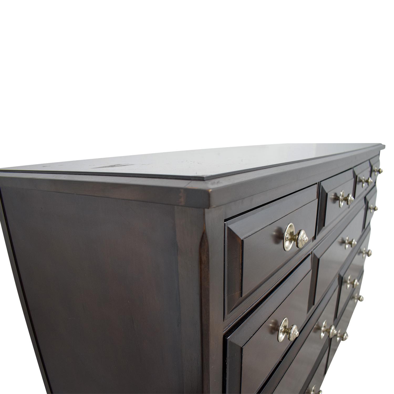 Martha Stewart Bernhardt Martha Stewart Bernhardt Brown Eleven Drawer Dresser used