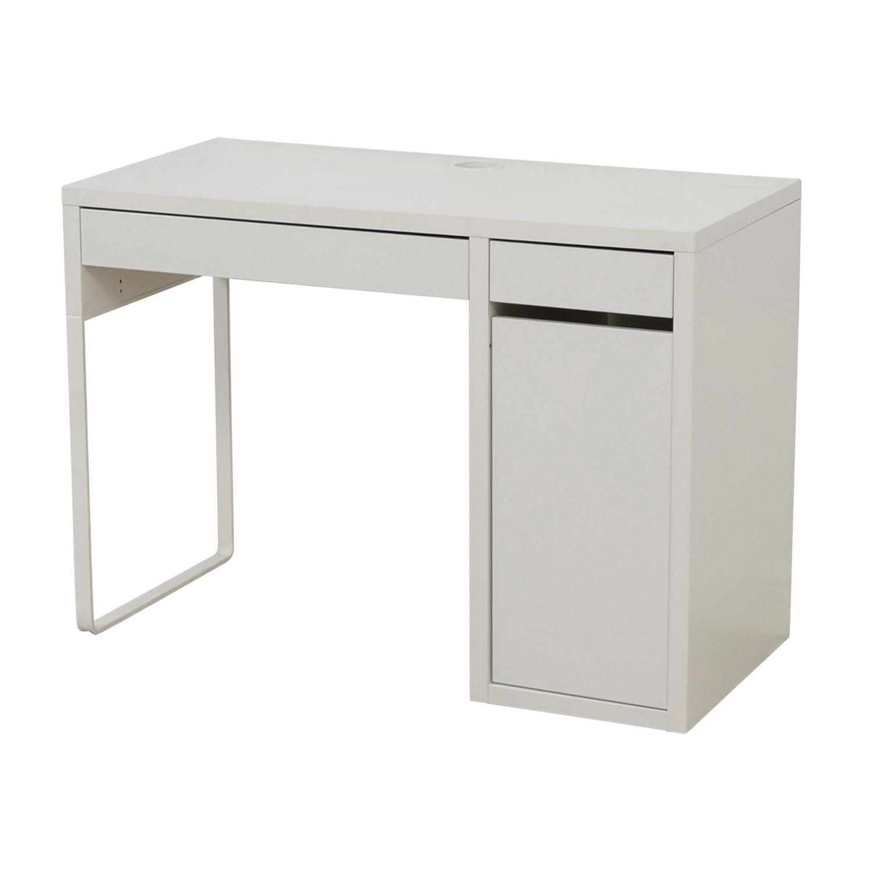 64 off ikea ikea white desk tables. Black Bedroom Furniture Sets. Home Design Ideas
