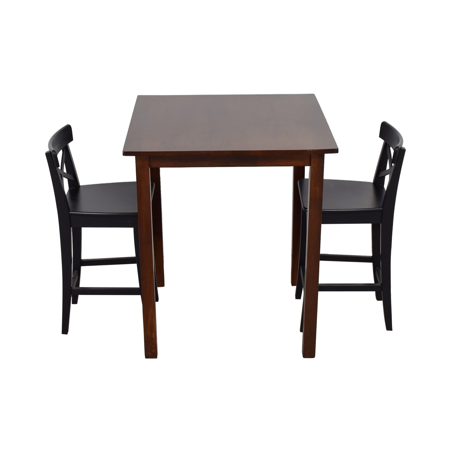 58 Off Ikea Ikea Ingolf Bar Table Set Tables