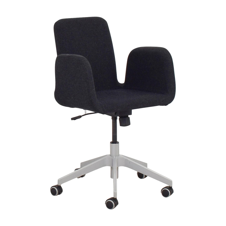 Charmant 61% OFF   IKEA IKEA Black Desk Chair / Chairs