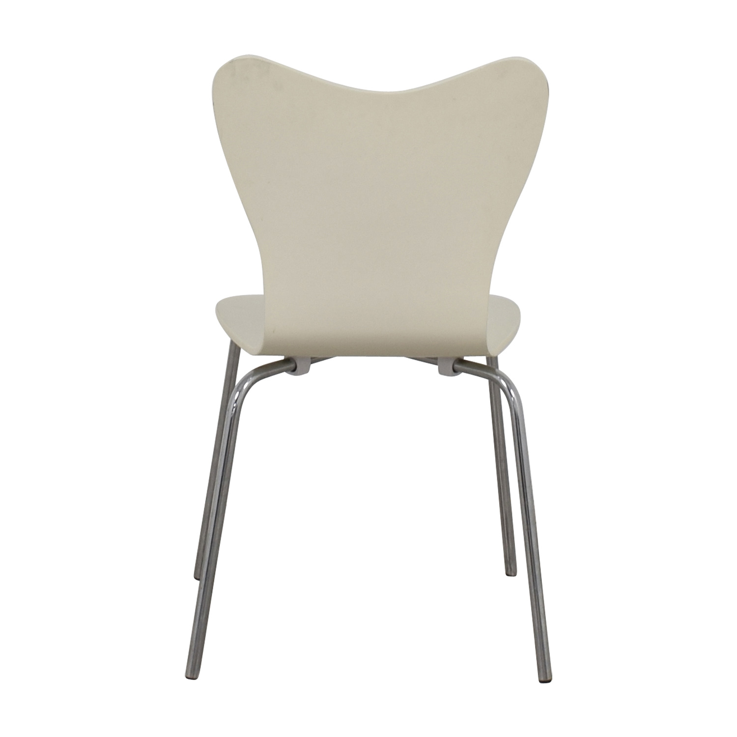 West Elm White Scoop Chair / Sofas
