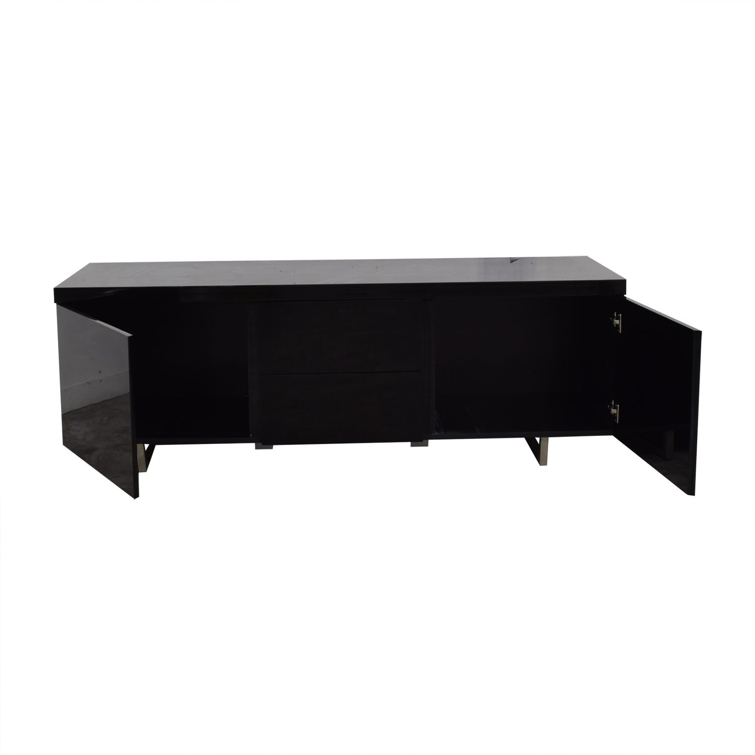 shop Modani Modani Black Media Cabinet online