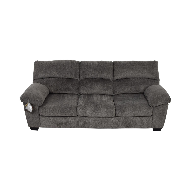 Ashley Furniture Ashley Furniture Grey Sofa Classic Sofas