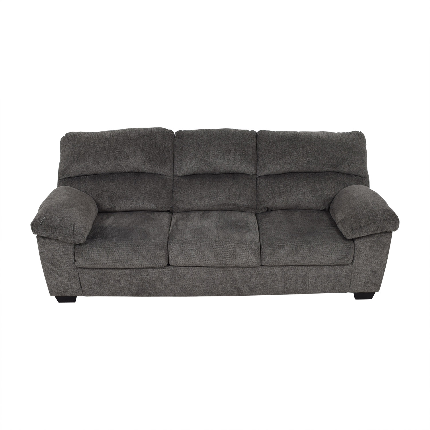 Ashley Furniture Ashley Furniture Grey Three Seat Sofa price