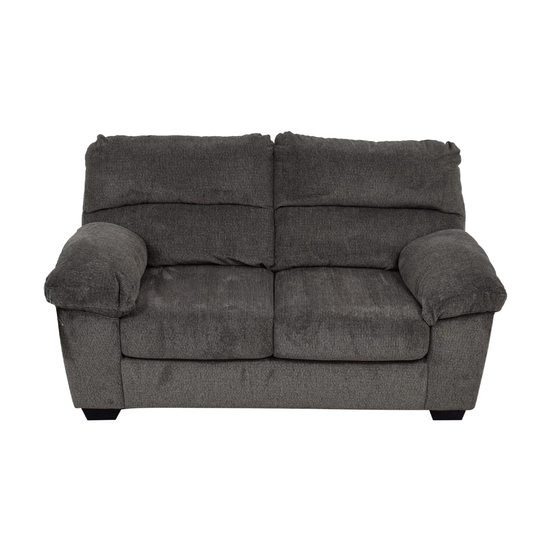 Ashley Furniture Grey Loveseat / Sofas
