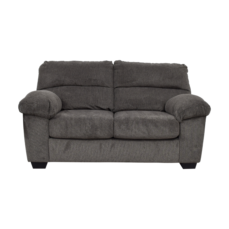 buy Ashley Furniture Ashley Furniture Grey Loveseat online
