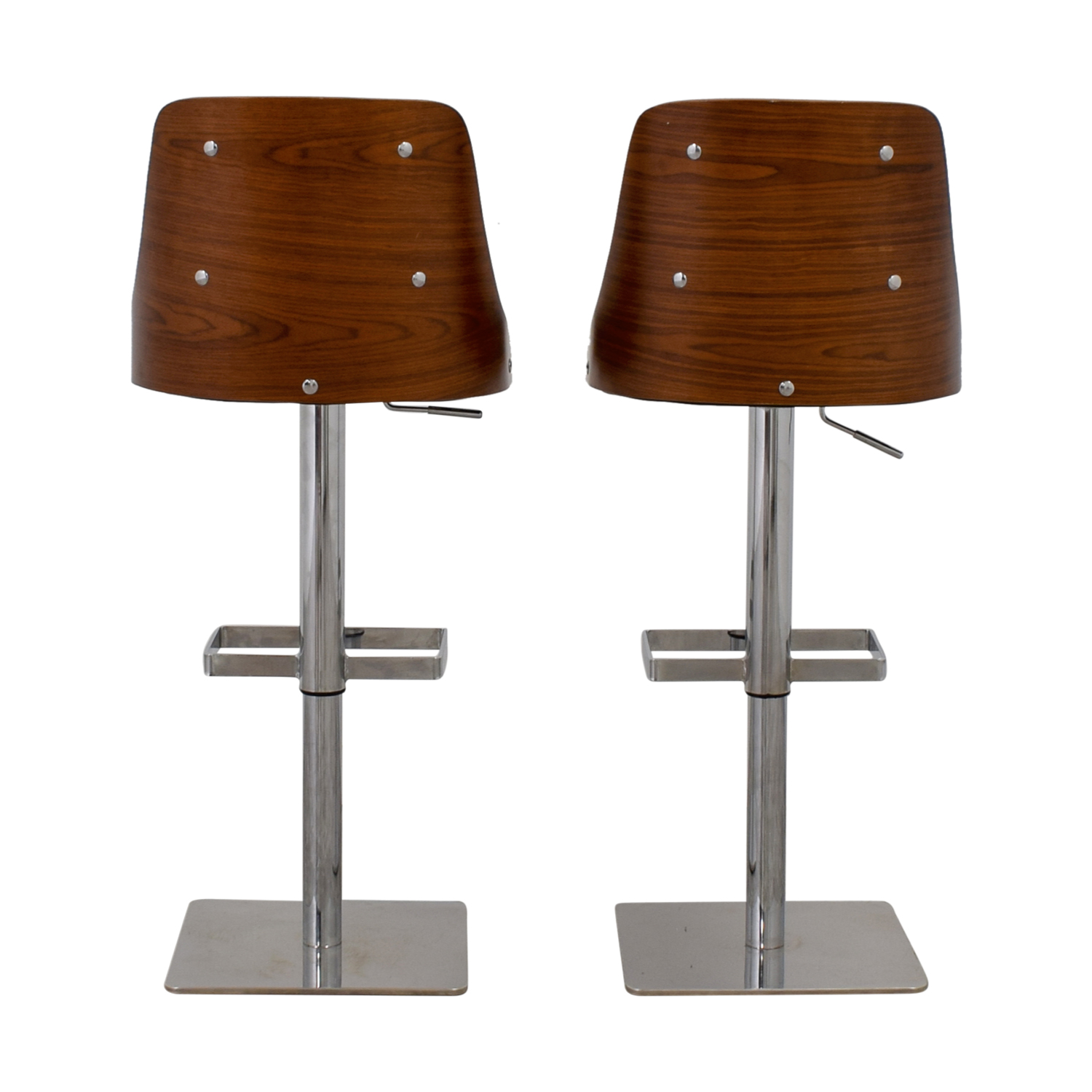 Sunpan Modern Sunpan Modern Braiden Adjustable Bar Stools nyc
