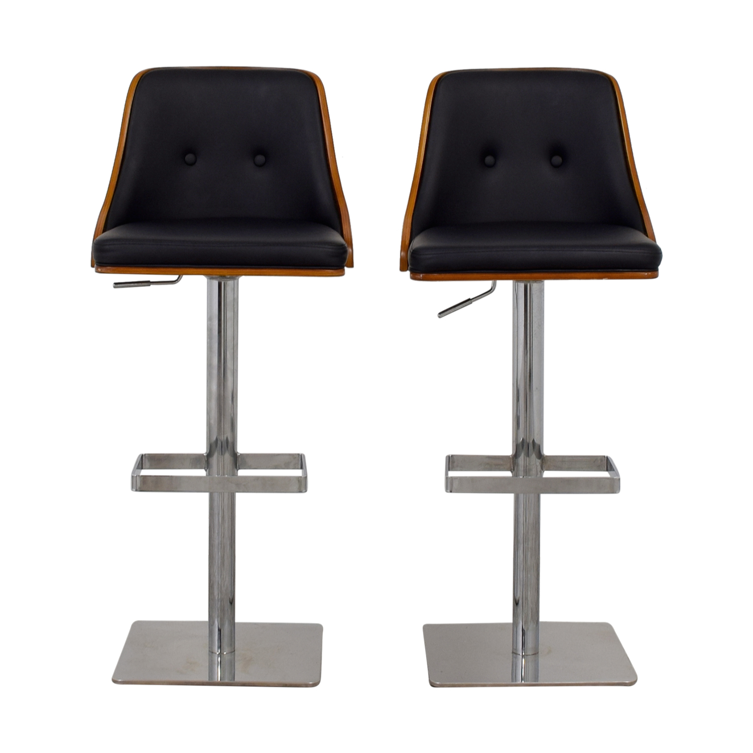 Sunpan Modern Braiden Adjustable Bar Stools sale